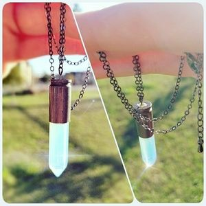 Jewelry - Hand Made Crystal Necklace